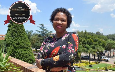 Top Empowered Public Sector Leader 2020, Imogen Mashazi – first woman City Manager of Ekurhuleni