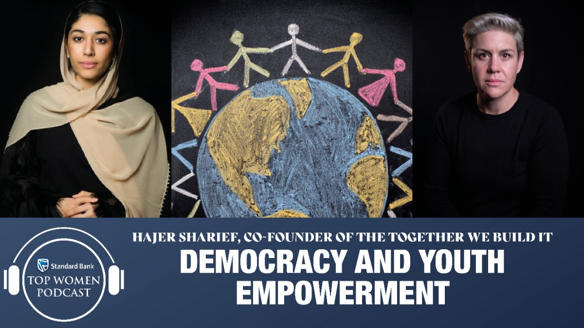 Together we build it - peacebuilder Hajer Sharief on democracy and youth empowerment