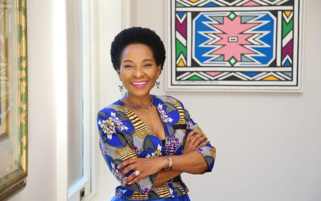 UCT Vice Chancellor, Prof. Mamokgethi Phakeng, is a tireless advocate for SA's progressive  research in Education